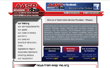 Click Here to Visit the AASP-MO.Org Website - Courtesy of 2GuysTalking.Com!