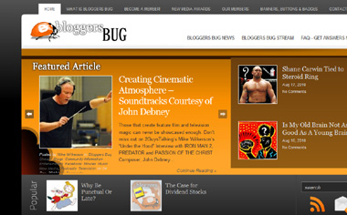 Click Here to Access BloggersBug.Com Now! Tell Them Mike Wilkerson from 2GuysTalking Sent You!