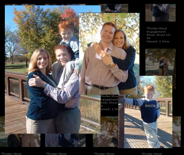 Click Here to See the Pictures from the Foster/Stout Engagement Photo Shoot...