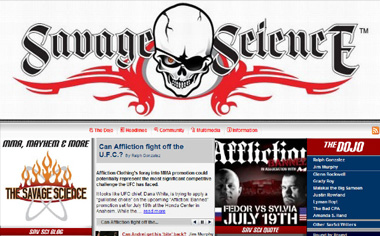 "Click Here to Learn More About ""The Savage Science - MMA, Mahem and More!"""